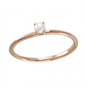 Single Pearl Ring