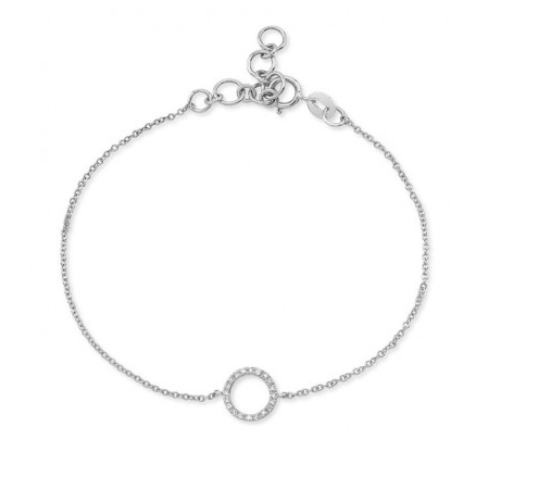 Open Circle Chain Bracelet