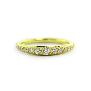 Diamond Bali Ring