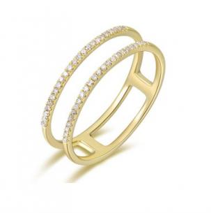 Two Row Pave Band