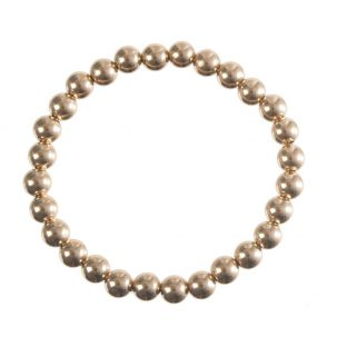 Gold Bead Bracelet (multiple sizes)