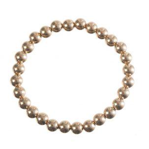Gold Bead Bracelet (multiple sizes)