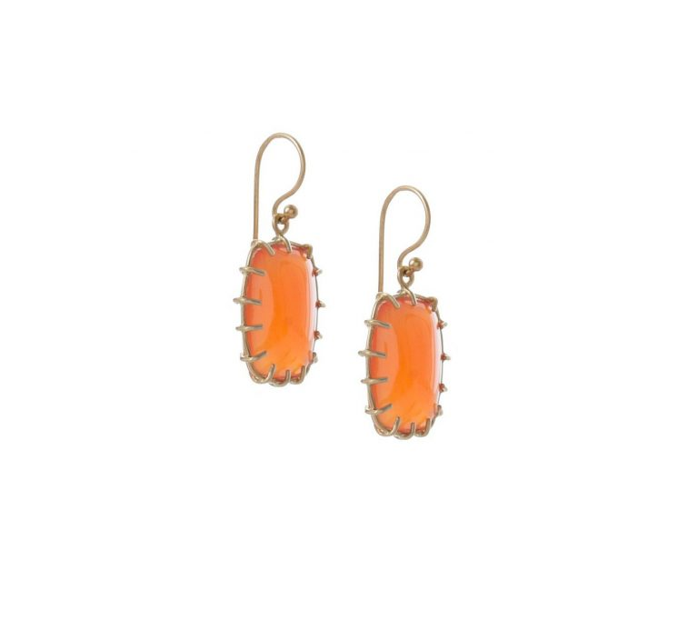 Carnelian Cushion Drops
