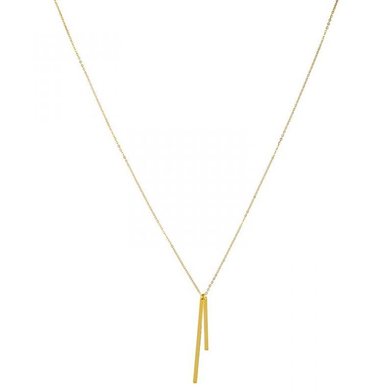 Double Matchsticks Necklace