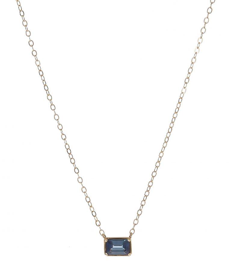 Leone Blue Sapphire Necklace