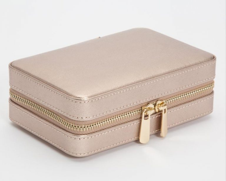 Rose Gold Zip Case