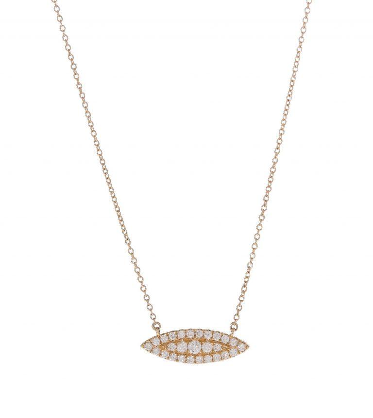 Diamond Marquis Necklace