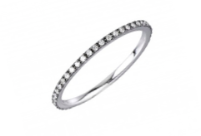 Black & White Eternity Ring