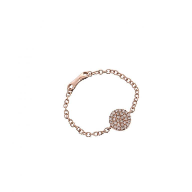 Pave Disc Chain Ring