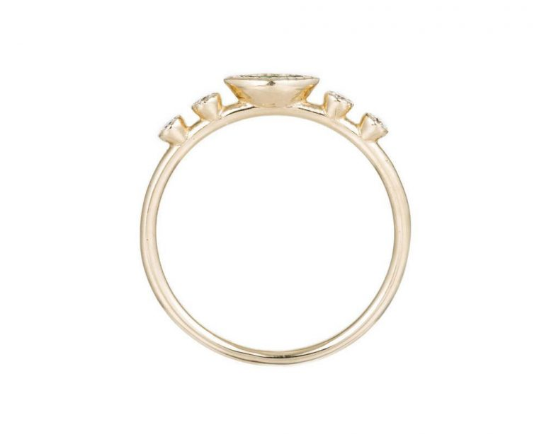 Marquis Diamond Dew Ring