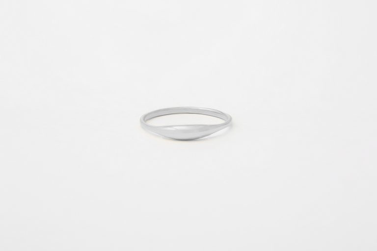 Sterling Silver Ovate II Ring