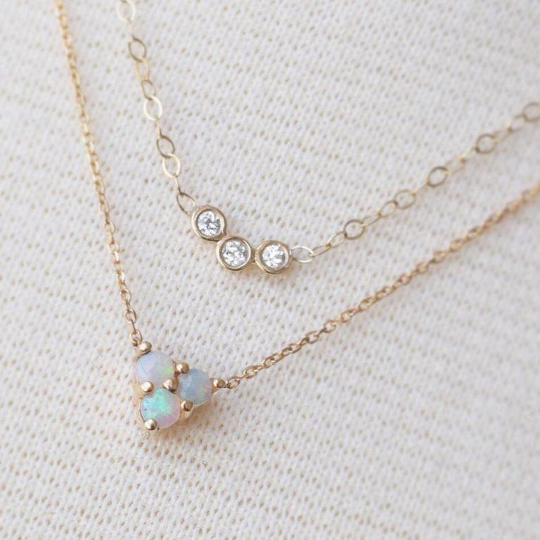 Diamond Trio Pendant