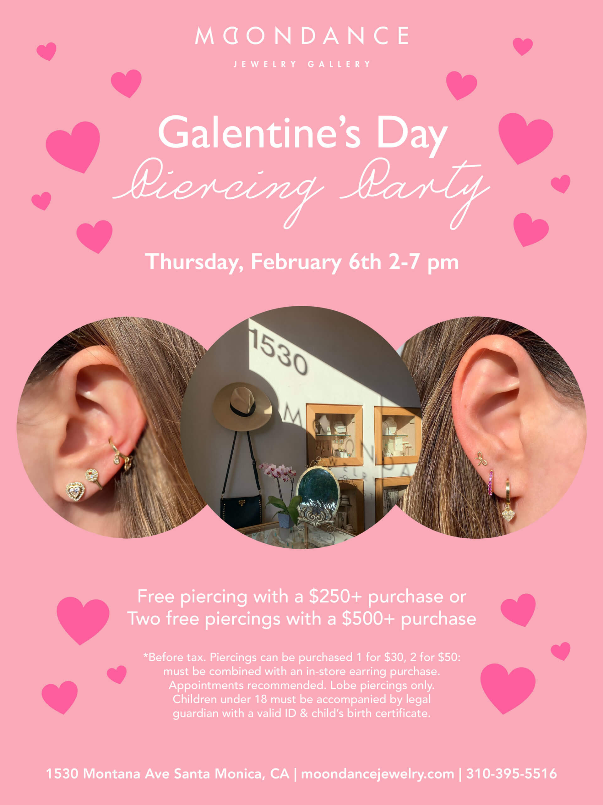 Galentine S Day Piercing Party Moondance Jewelry Gallery