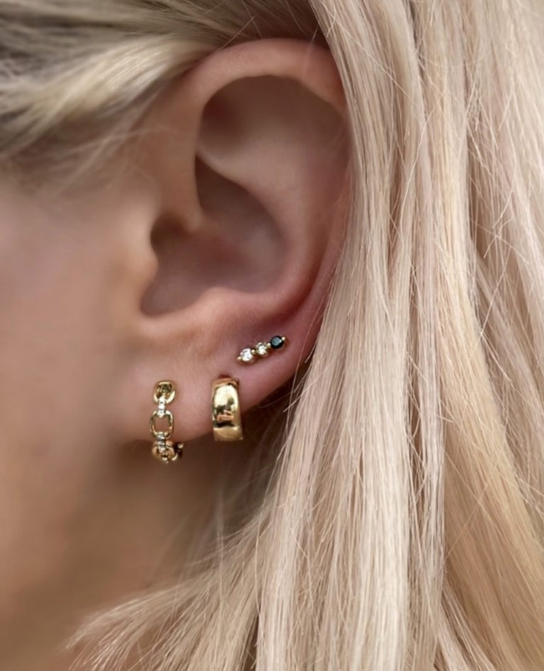 Gold Earrings at Moondance Jewelry Gallery