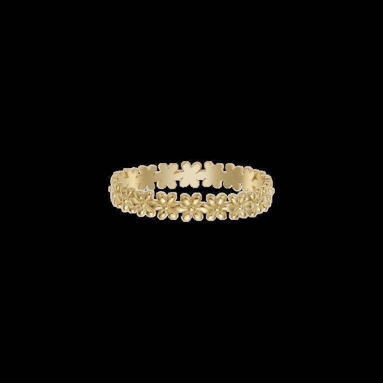 Flower Child Gold Ring