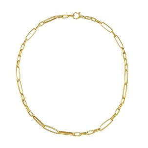 Mixed Link Chain Bracelet