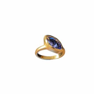 Marquis Tanzanite Ring