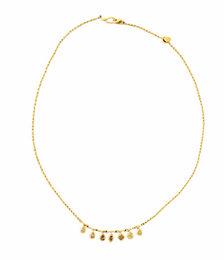 Multicolor Sapphire Necklace